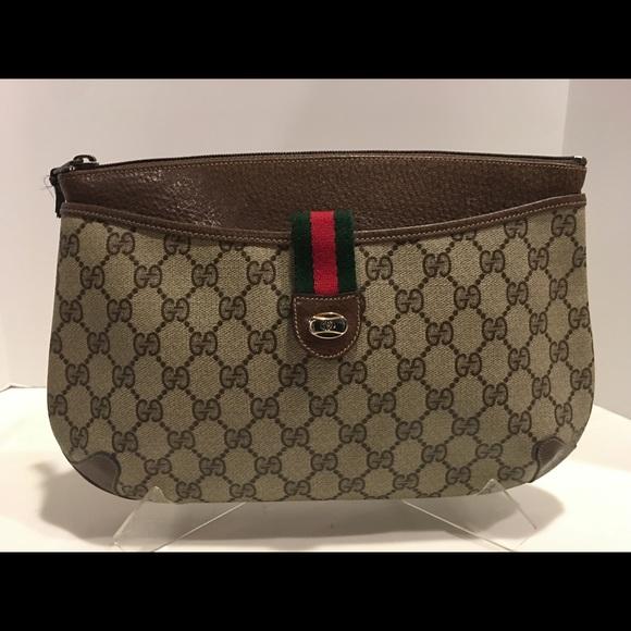 a901788bb5b Gucci Handbags - Vtg.Gucci GG Supreme Web Swagger Convertible Bag